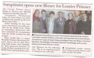 Lourier Library media coverage 2012 - 2